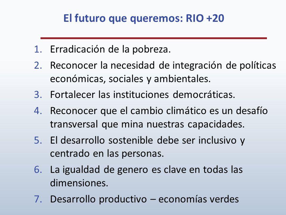 El futuro que queremos: RIO +20