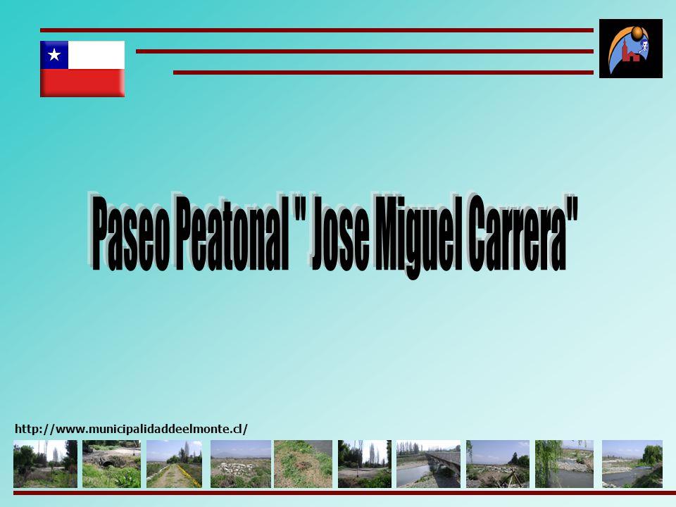 Paseo Peatonal Jose Miguel Carrera