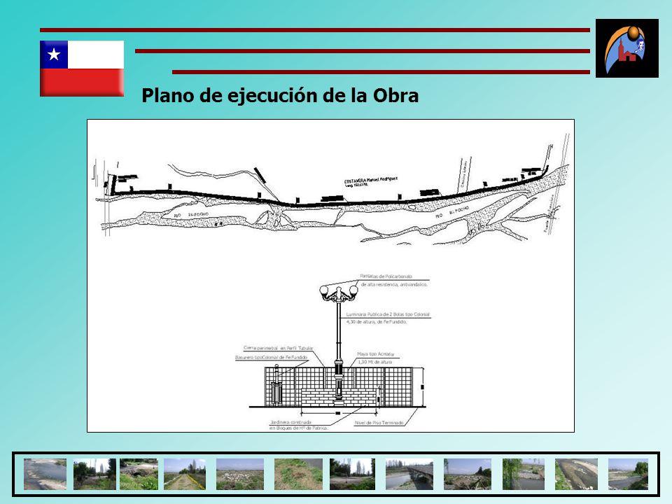 Plano de ejecución de la Obra