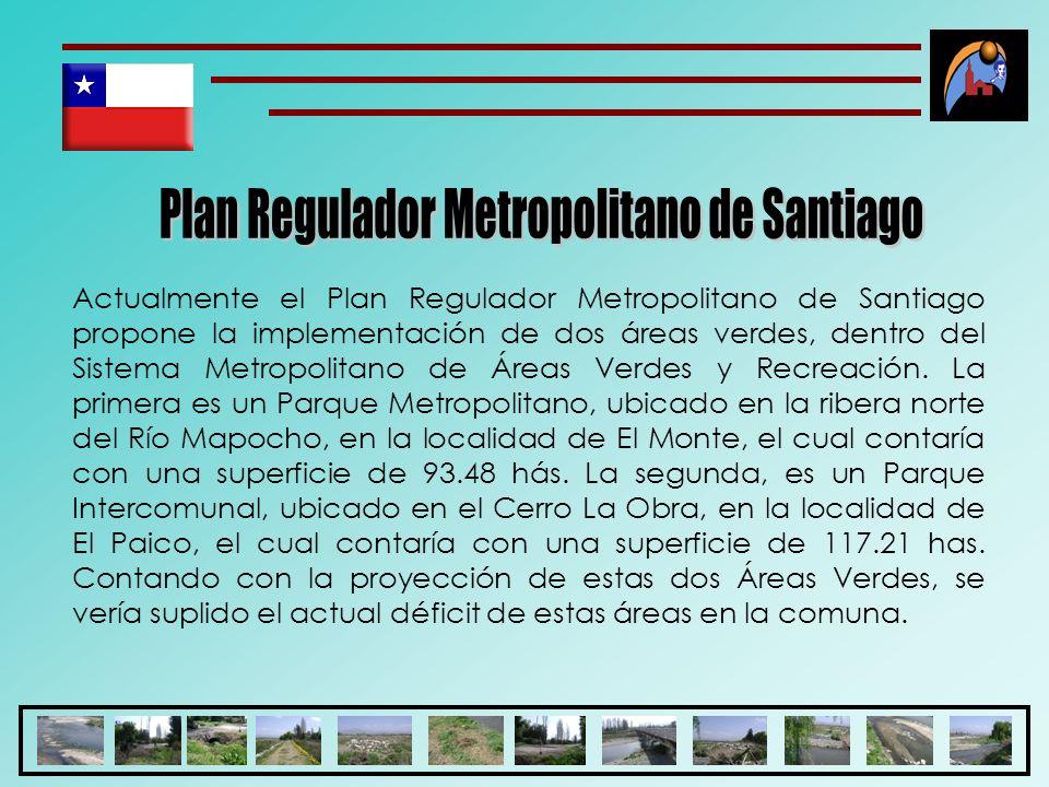 Plan Regulador Metropolitano de Santiago