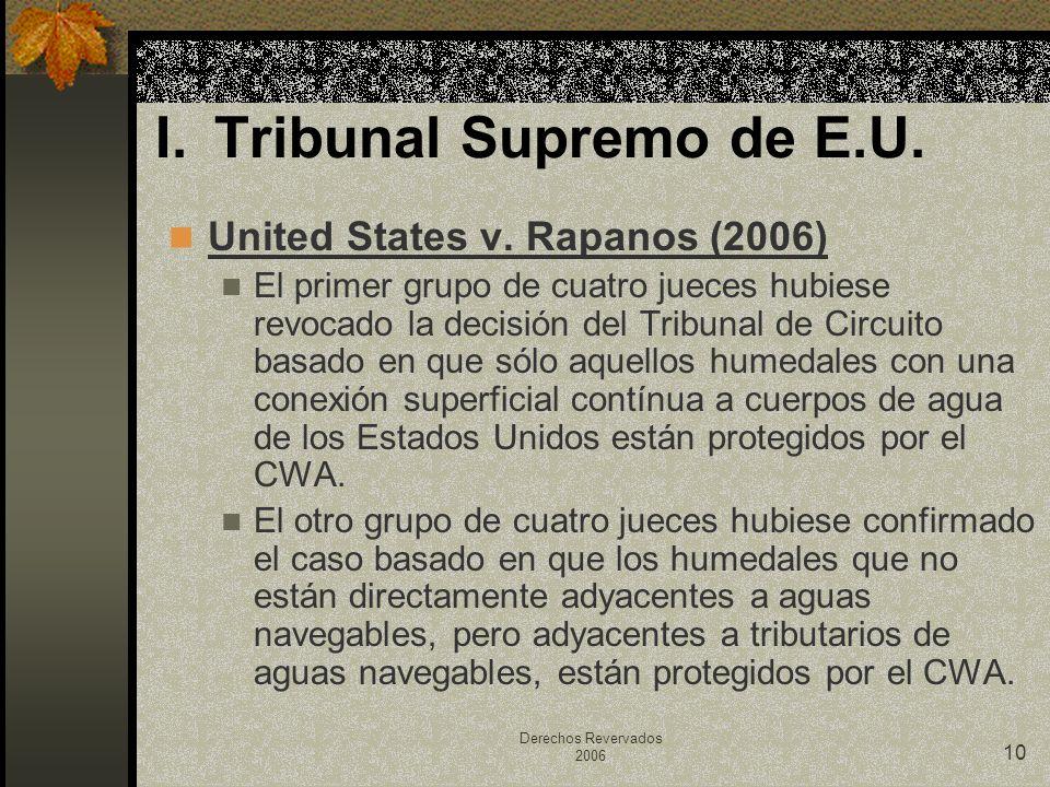 I. Tribunal Supremo de E.U.