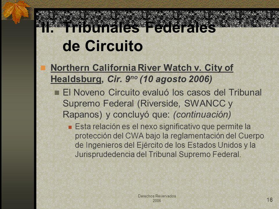 Tribunales Federales de Circuito