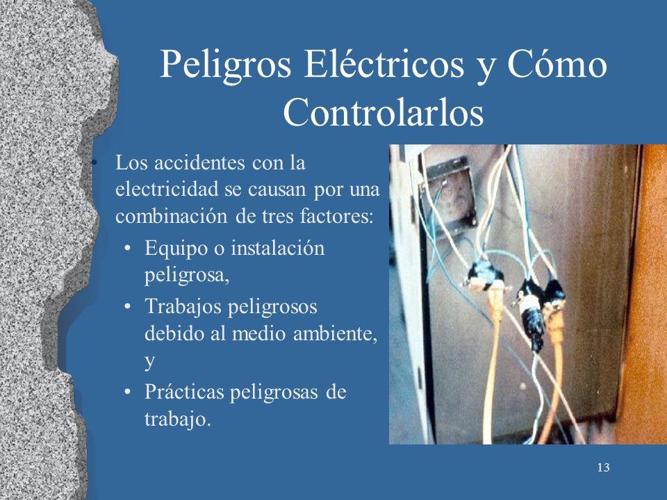 Peligros Eléctricos y Cómo Controlarlos