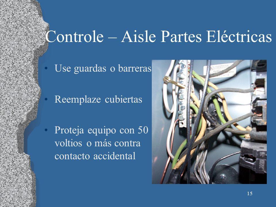 Controle – Aisle Partes Eléctricas