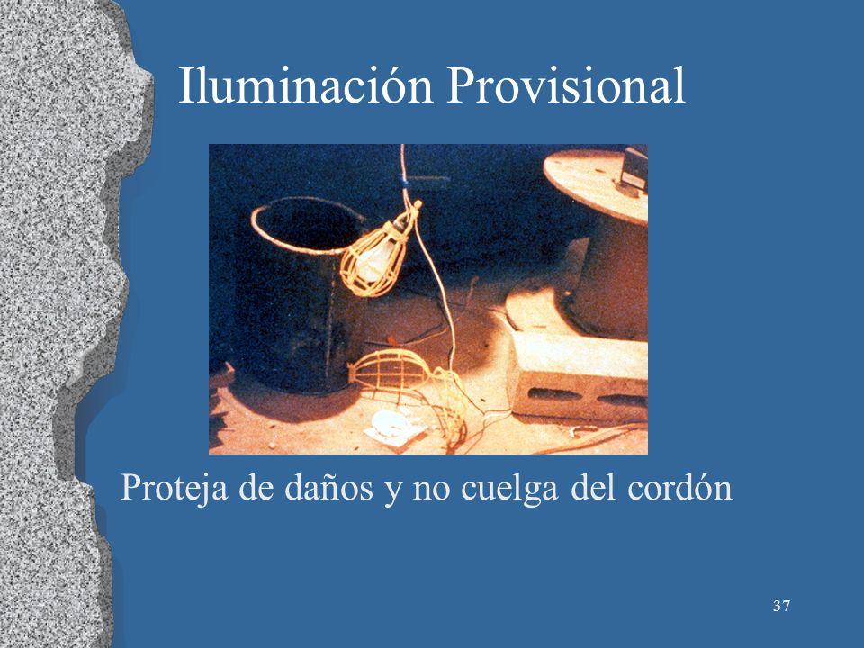 Iluminación Provisional