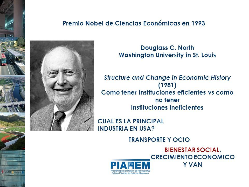 Premio Nobel de Ciencias Económicas en 1993