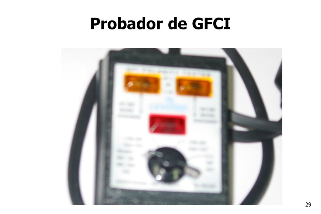 Probador de GFCI