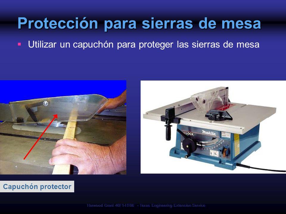 Protección para sierras de mesa