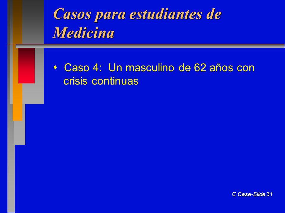 Casos para estudiantes de Medicina