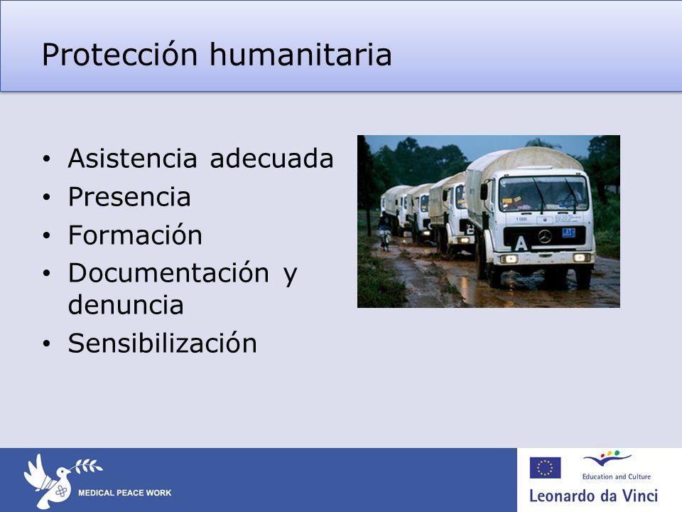Protección humanitaria