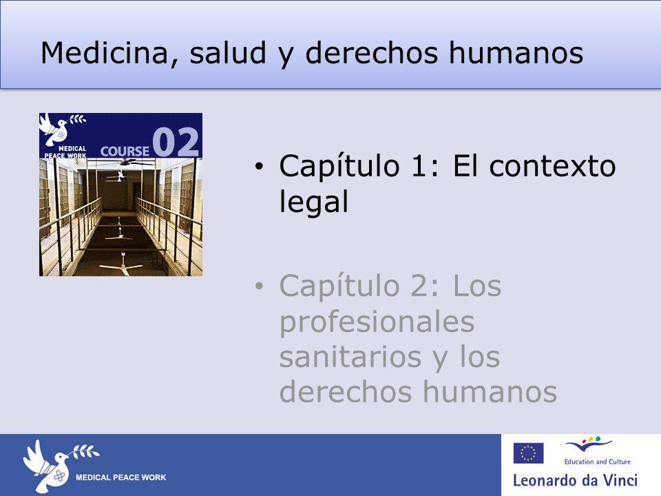 Medicina, salud y derechos humanos