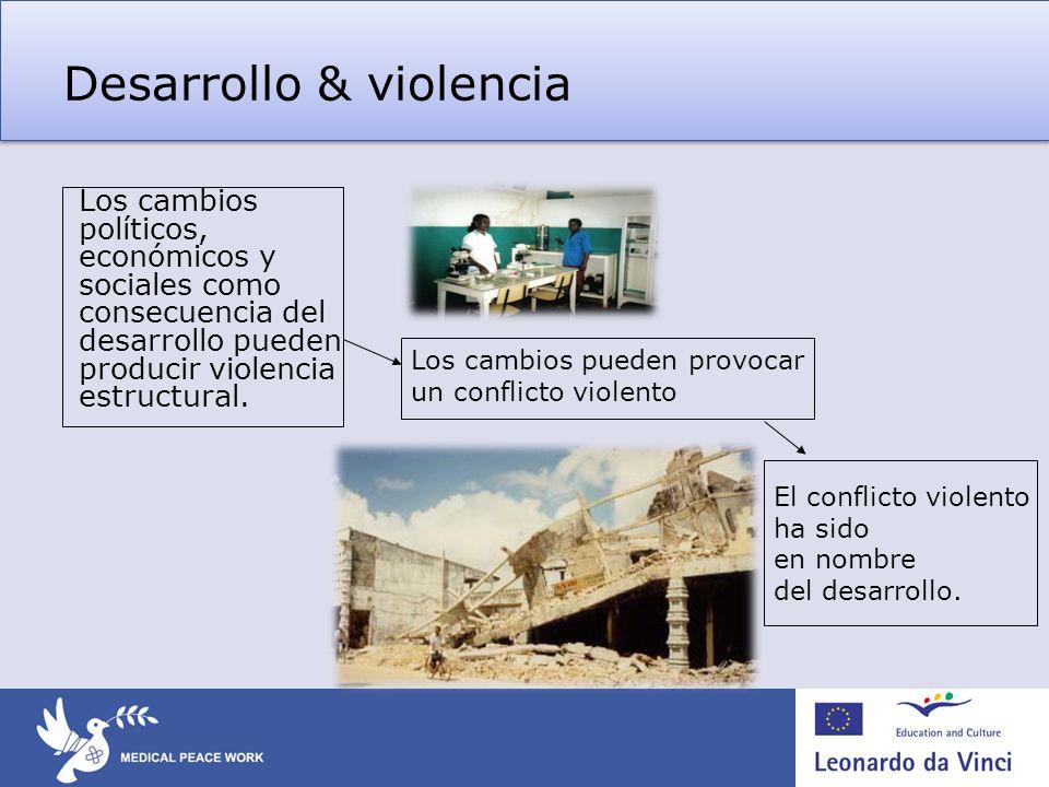Desarrollo & violencia