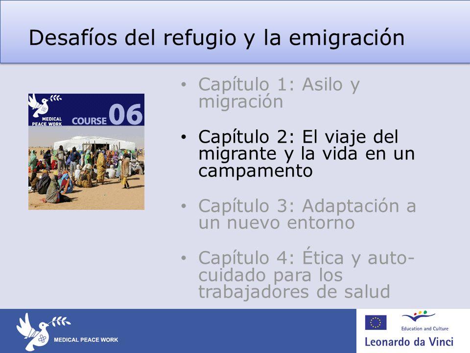 Desafíos del refugio y la emigración