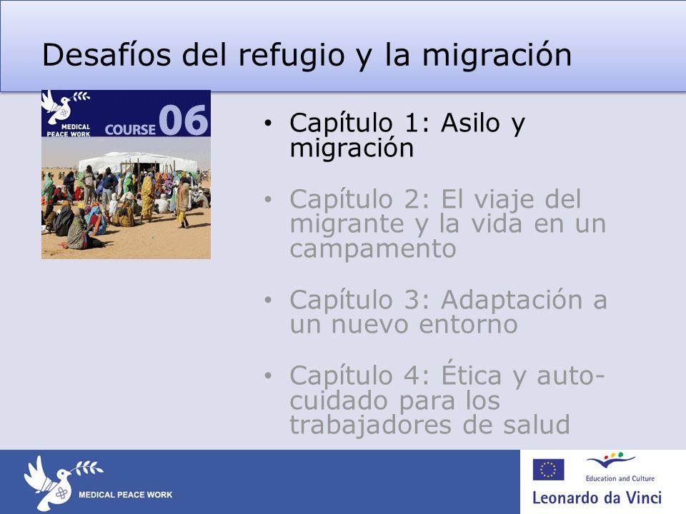 Desafíos del refugio y la migración