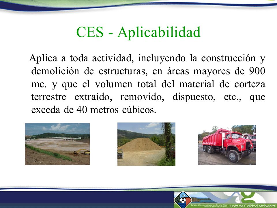 CES - Aplicabilidad