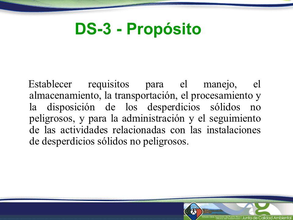 DS-3 - Propósito
