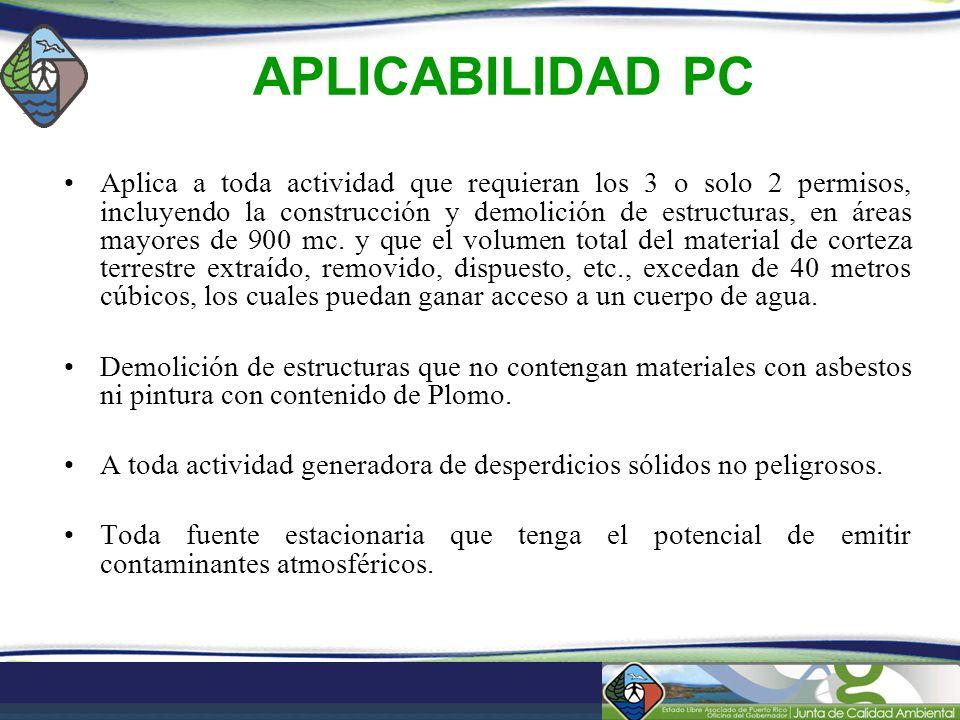 APLICABILIDAD PC