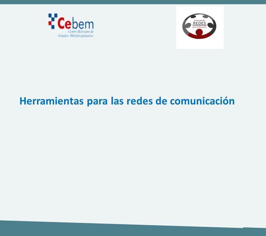 Herramientas para las redes de comunicación