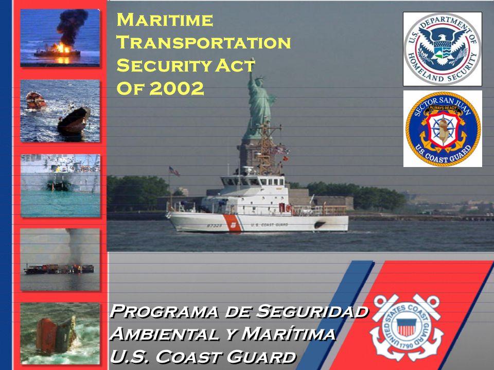 Maritime Transportation Security Act