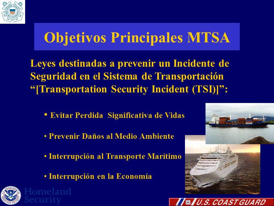 Objetivos Principales MTSA