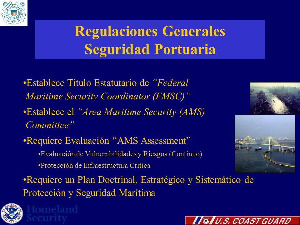 Regulaciones Generales Seguridad Portuaria