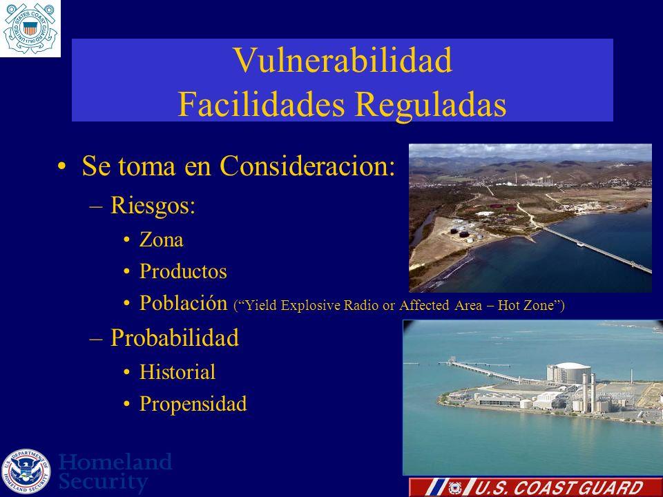 Vulnerabilidad Facilidades Reguladas