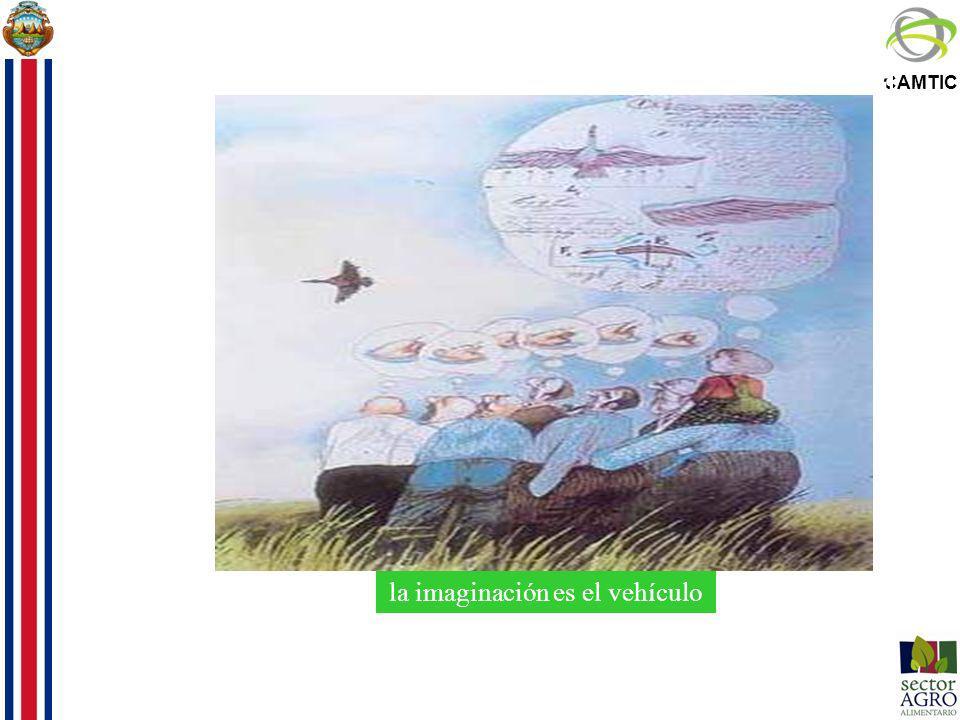 la imaginación es el vehículo