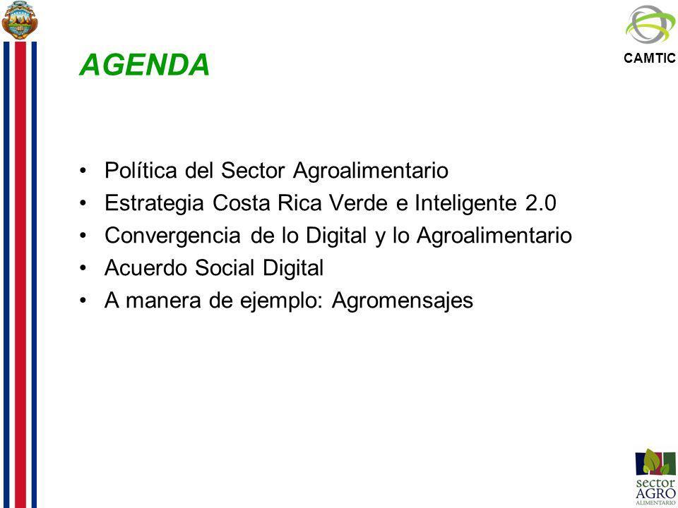 AGENDA Política del Sector Agroalimentario