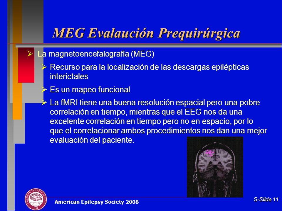 MEG Evalaución Prequirúrgica