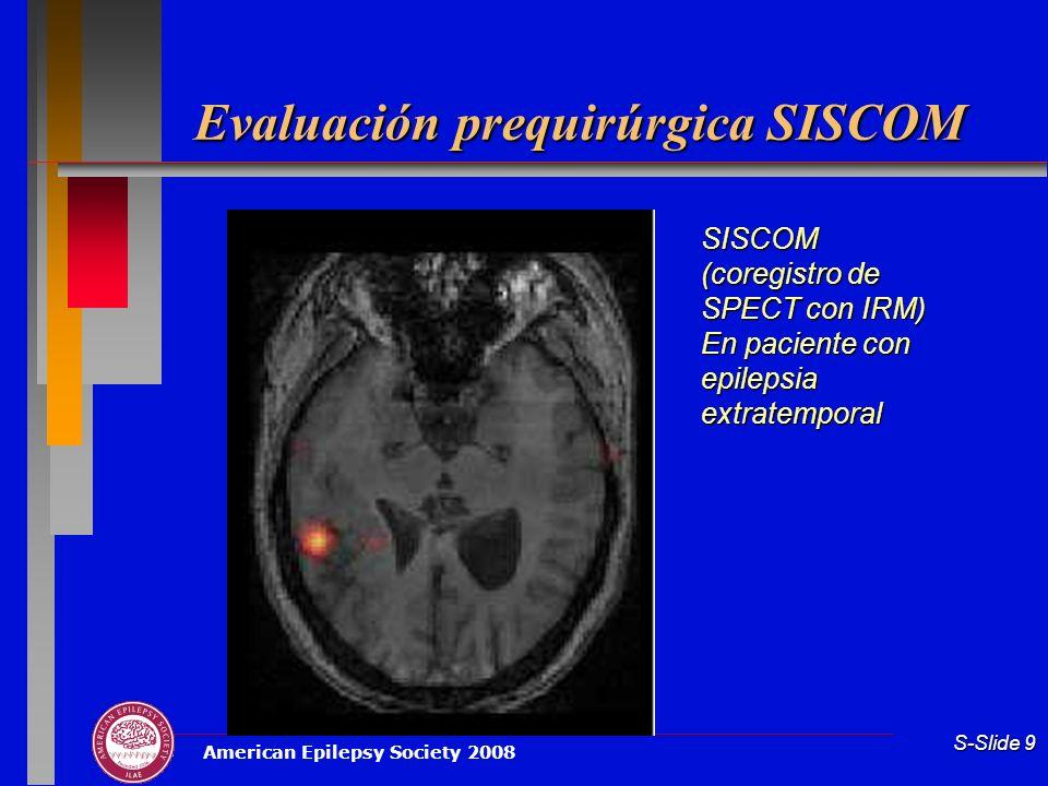 Evaluación prequirúrgica SISCOM