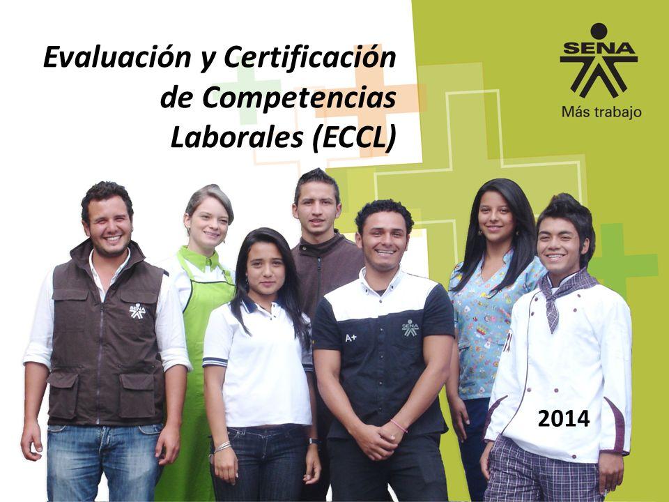 Evaluación y Certificación de Competencias Laborales (ECCL)