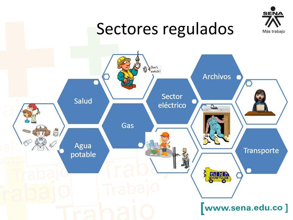 Sectores regulados Archivos Sector eléctrico Salud Gas Agua potable