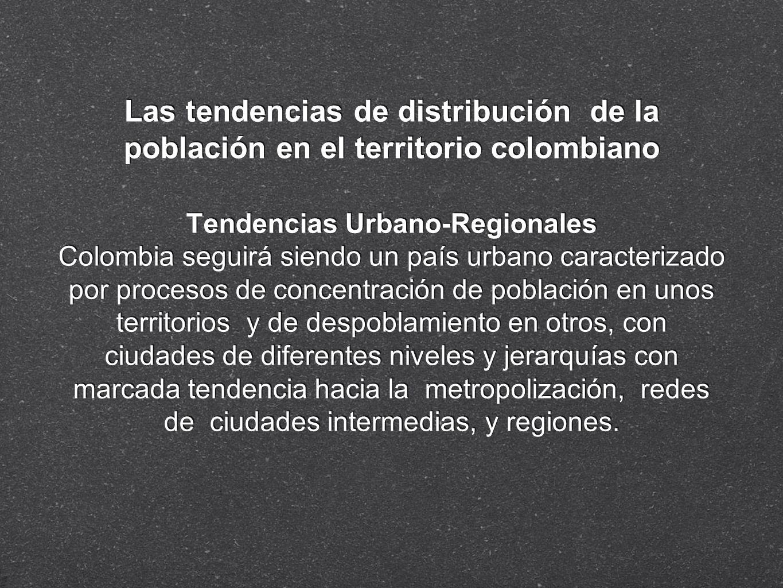 Tendencias Urbano-Regionales