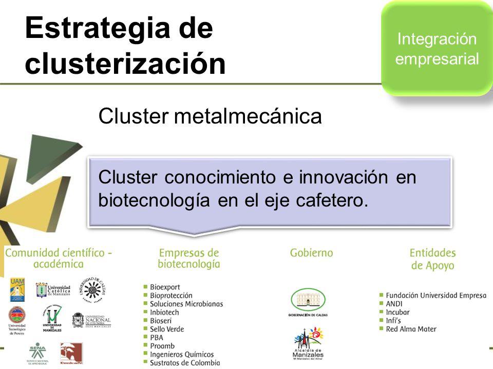 Estrategia de clusterización