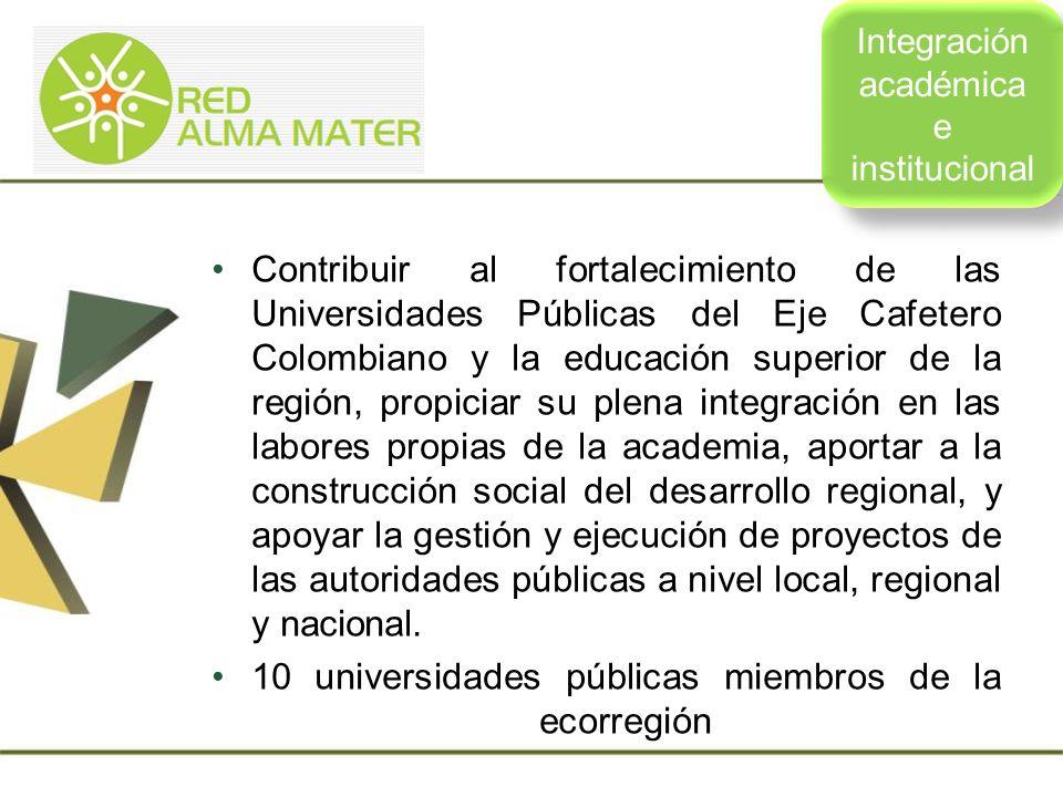 Integración académica e institucional