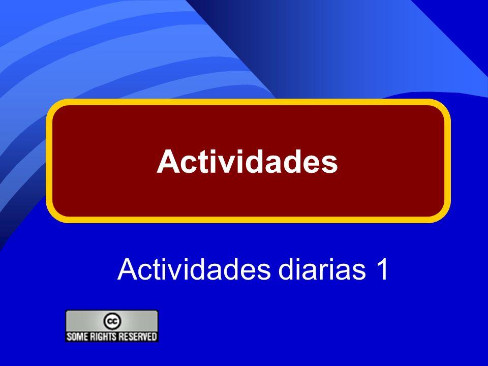 Actividades Actividades diarias 1