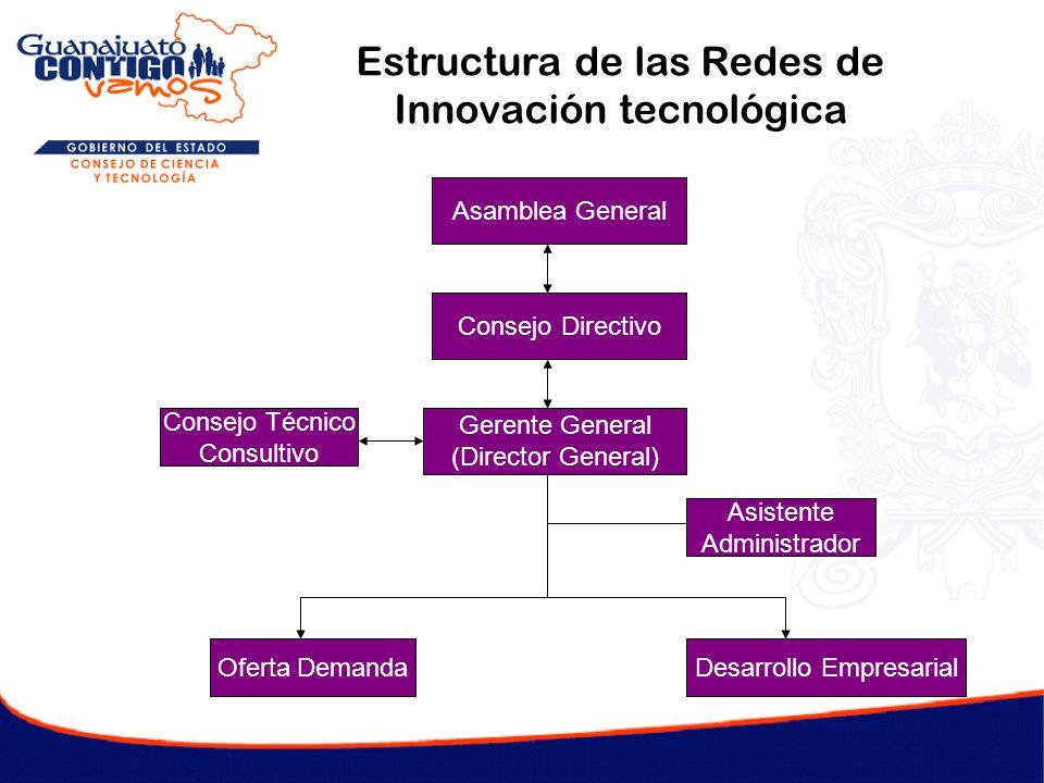 Estructura de las Redes de Innovación tecnológica