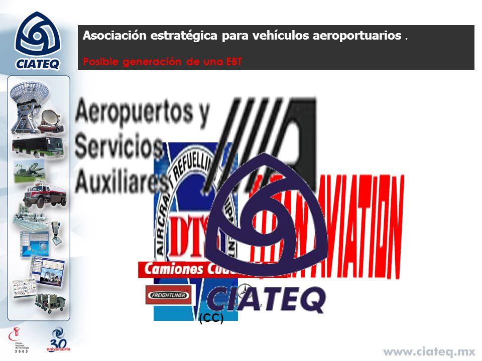 Asociación estratégica para vehículos aeroportuarios .