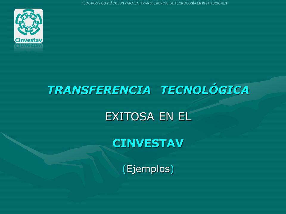 TRANSFERENCIA TECNOLÓGICA