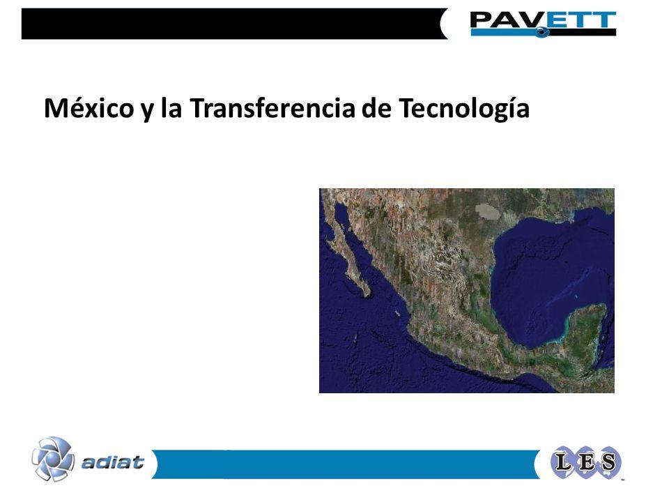 México y la Transferencia de Tecnología