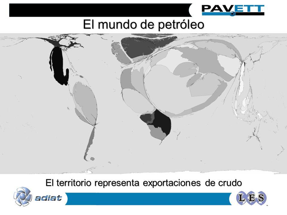 El territorio representa exportaciones de crudo