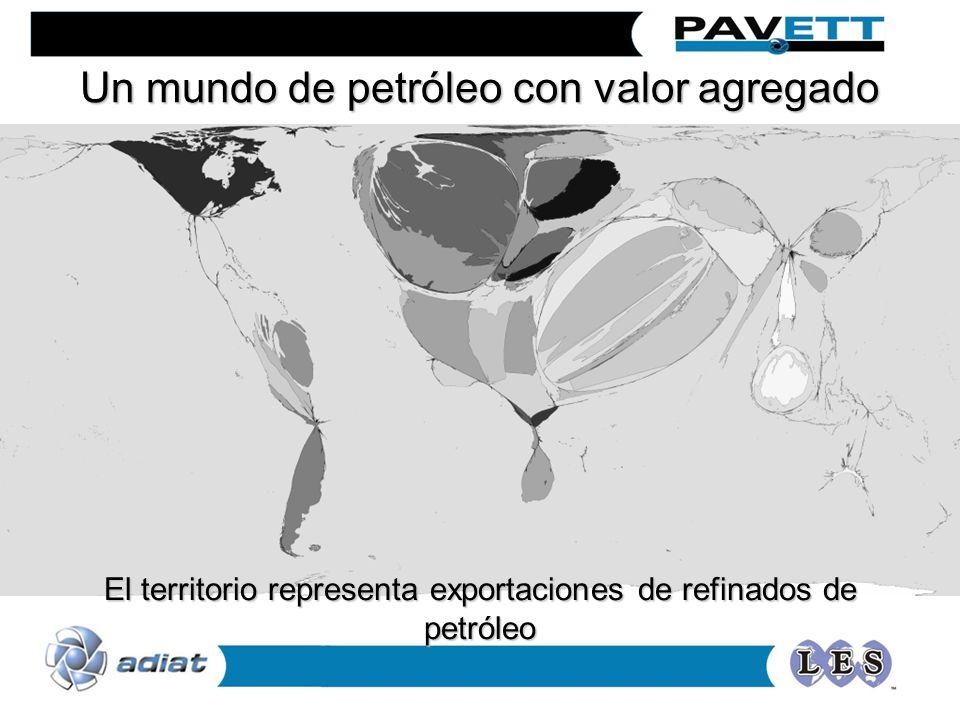 Un mundo de petróleo con valor agregado