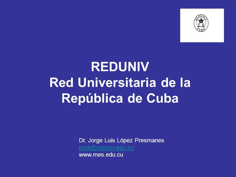 REDUNIV Red Universitaria de la República de Cuba