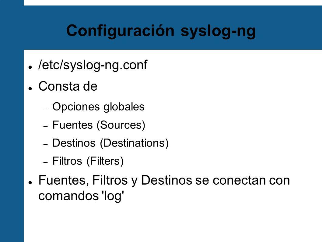 Configuración syslog-ng