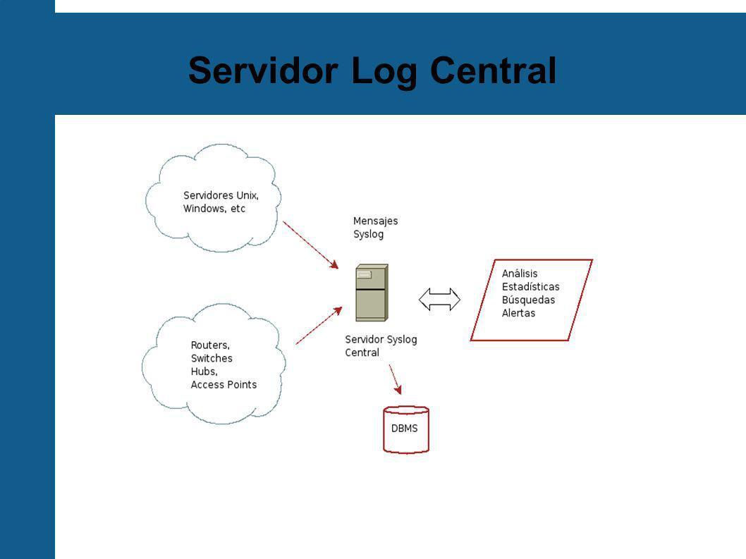 Servidor Log Central