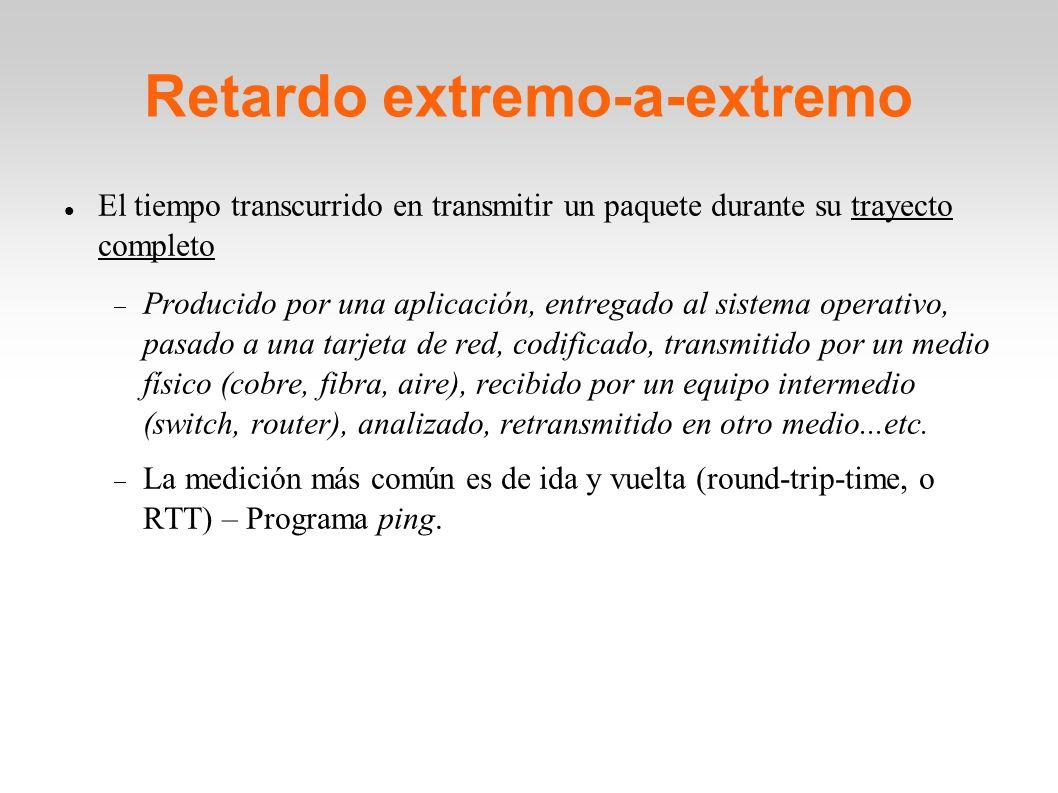Retardo extremo-a-extremo