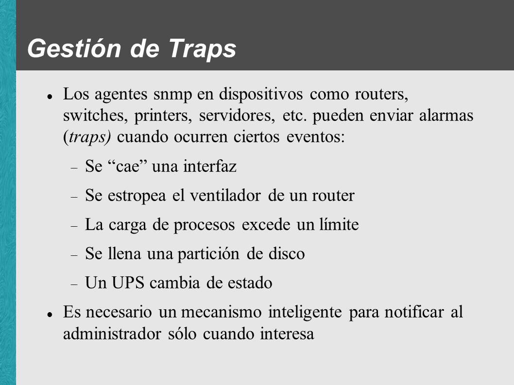 Gestión de Traps