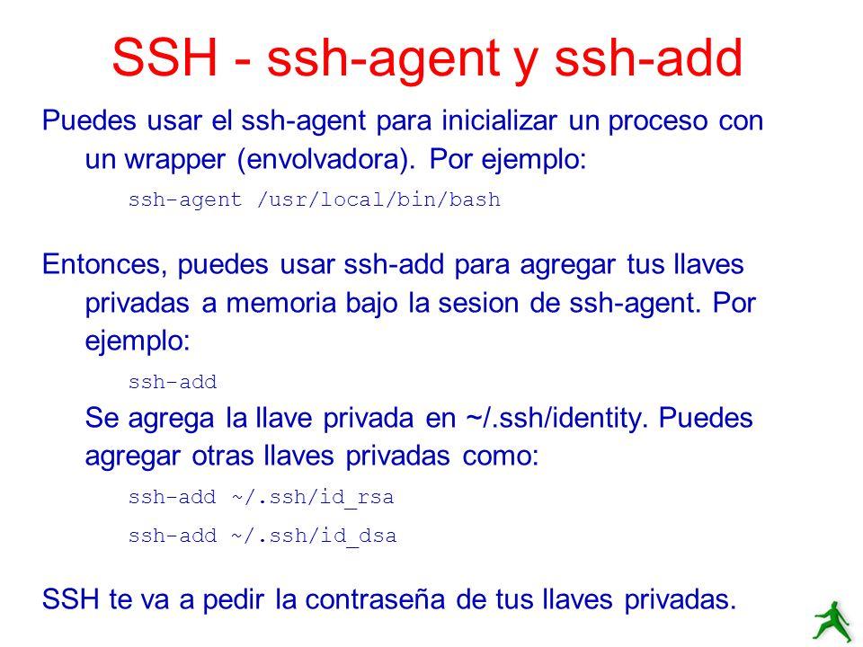 SSH - ssh-agent y ssh-add