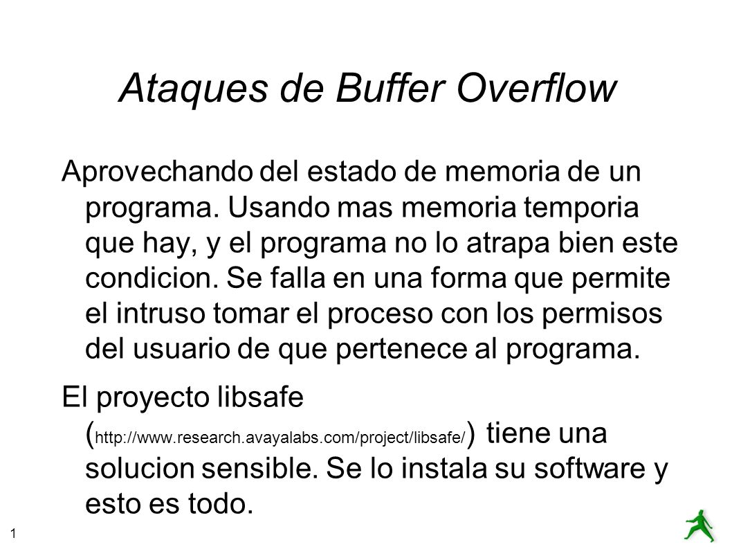 Ataques de Buffer Overflow
