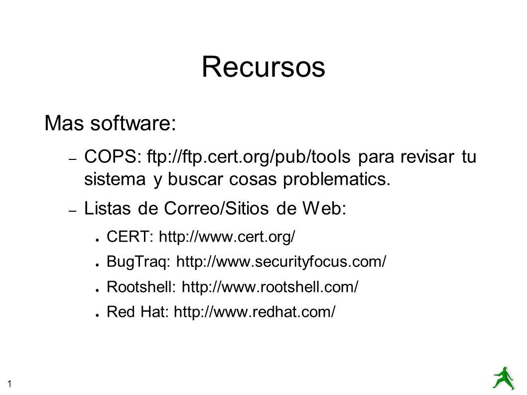 Recursos Mas software: